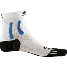 X-Socks Sky Run Two Calcetines, blanco/negro